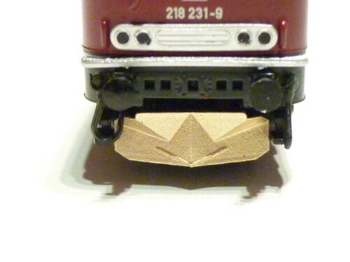 MTR-Zubehör N 1x geschlossener Schienenräumer für Mintrix 218 MZ11201 NEU OVP
