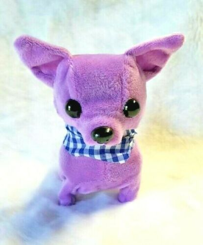 """Battery Operated BARKING WALKING Cute /""""Teacup chihuahua/' LILIE"""