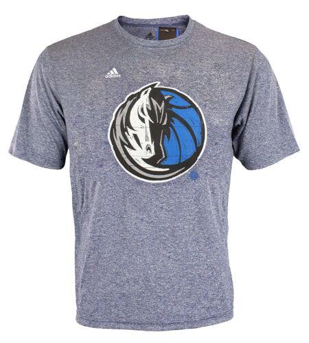 Adidas NBA Mens Dallas Mavericks Ultra Lightweight Athletic Graphic Tee Navy