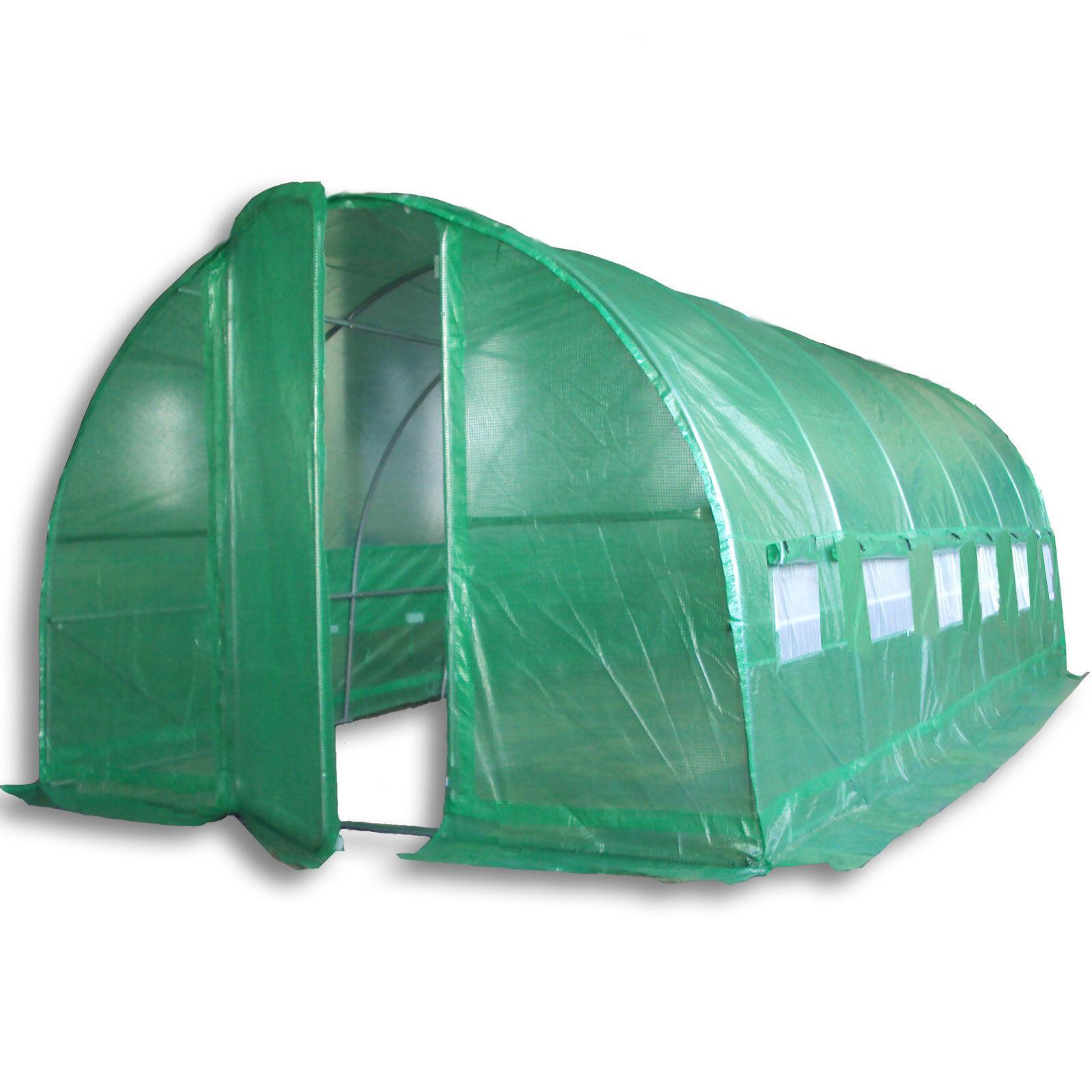 Tamaño 3 túneles de plásticos invernadero invernadero invernadero de láminas plantas túnel