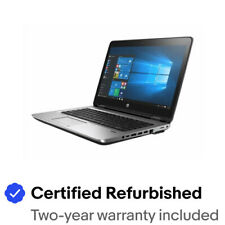 "HP ProBook 640 G2 Business Laptop 14"" FHD i5-6300U 8GB 128GB SSD Webcam Win10Pro"