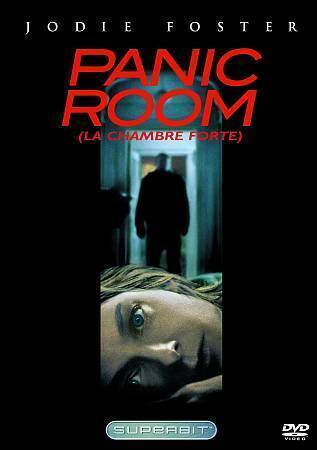 Panic Room DVD  Bilingual  FREE SHIPPING IN CANADA