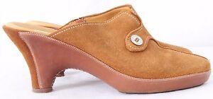 Cole-Haan-D15244-Amber-Devon-Split-Toe-Mule-Wedge-Mule-Heels-Women-039-s-US-9B