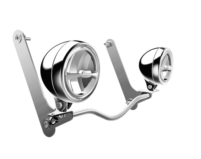 Buy Indian Motorcycles Driving Lights Chrome For Chief Models Online