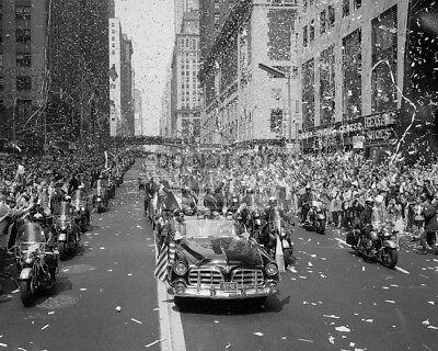 Tickertape parade in New York City for NASA Apollo 11 astronauts New 8x10 Photo