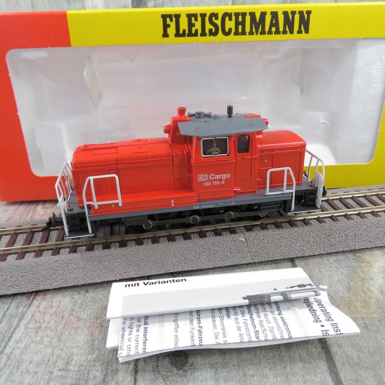 FLEISCHuomoN 4223   HO  DB autogo  Diesellok 360 1598  OVP   R27571