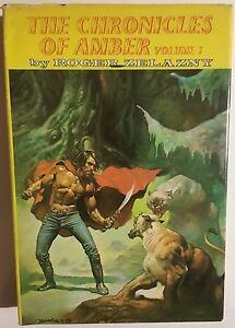 CHRONICLES OF AMBER by Roger Zelazny (volume 1) Nelson Doubleday HC Boris cover