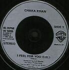 """CHAKA KHAN i feel for you 7"""" WS EX/ uk warner W9209"""