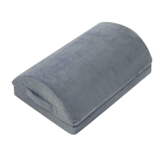 Office Foot Rest Therapeutic Grade Memory Foam Cushion Footrest Stool For Under For Sale Online Ebay