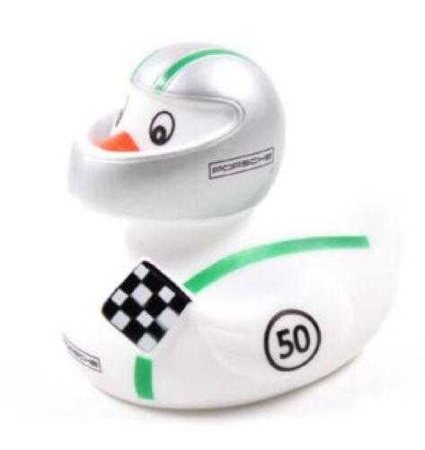 Porsche badeente pato Car Racer Duck 911r Modern Weiss verde