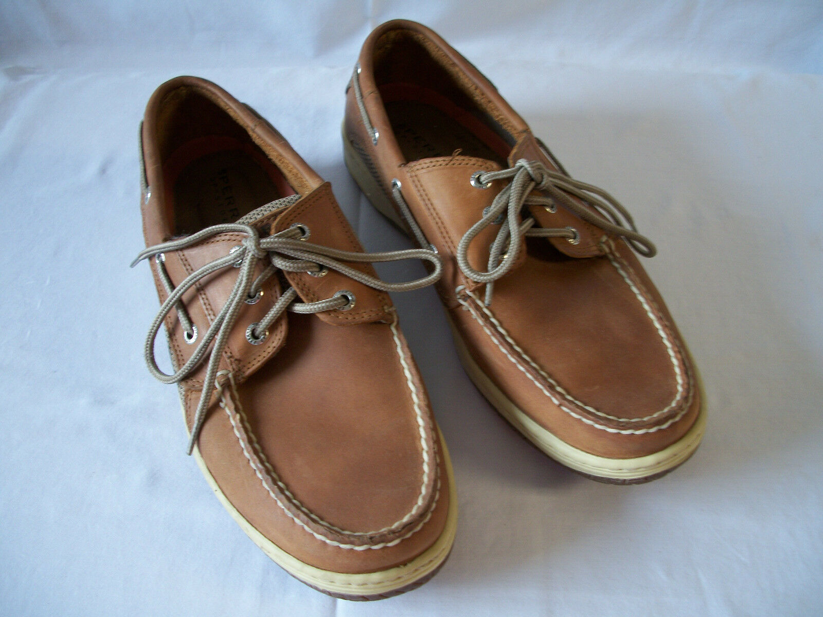 Sperry Topsider Mens 3 Eye Boat shoes 10.5 M EUC