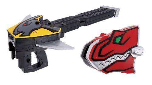 Bandai Power Rangers Jyuden Sentai Kyoryuger Fang conjunto de disparo