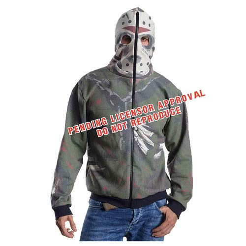Friday the 13th Hooded Sweater Jason Voorhees Größe XS Rubies Maglioni