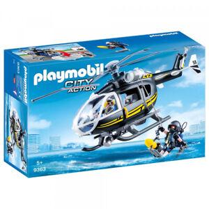 PLAYMOBIL ® 9363 HELICÓPTERO DE LAS FUERZAS ESPECIALES