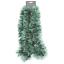 Decorazione-Albero-Natale-2M-trama-grossa-ghiaccio-carta-stagnola-Argento-Oro-Holly-Berry-Star miniatura 17