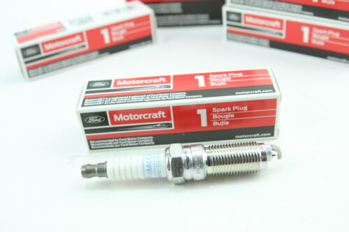 Set of 4 New Genuine OEM Motorcraft Iridium Spark Plugs SP532 CYFS13-RC