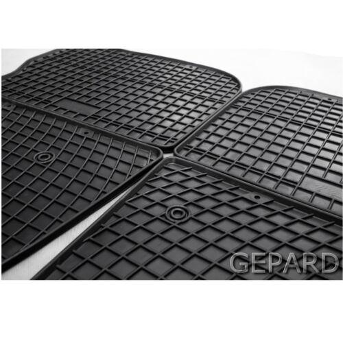 Gummi Fußmatten  für  Honda Jazz III 5Tür Fliessheck Bj.ab2008 bis 2012