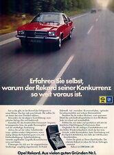 Opel-Rekord-1973-Reklame-Werbung-genuineAdvertising - nl-Versandhandel