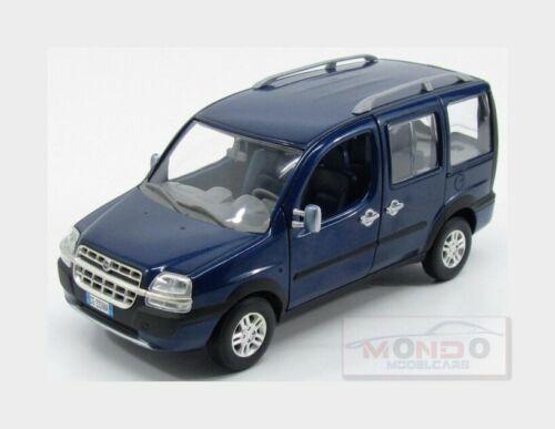 Fiat Doblo/' Malibu 2003 Blue Met NOREV 1:24 NV5914180 Modellbau