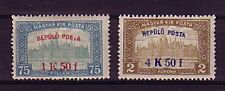 Ungarn Michelnummer  210 - 211  postfrisch Falz