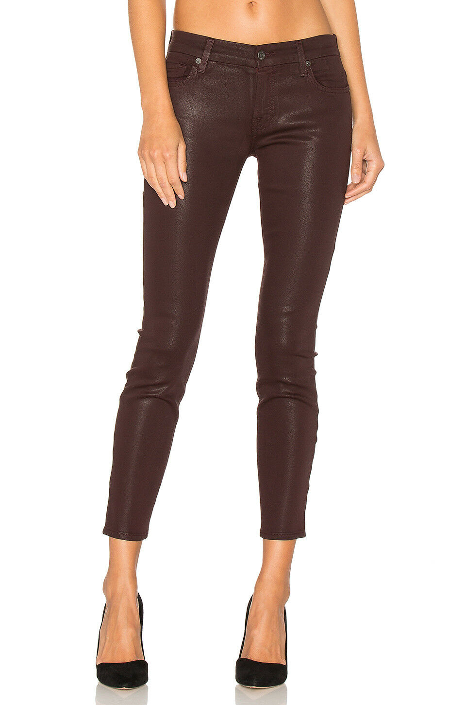 NWT 7 For All Mankind The Ankle Super Skinny [ SZ 32 ]  G228