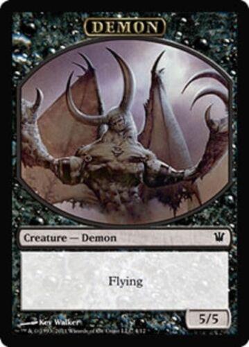 DEMON NM//SP Magic MTG FTG 10 Token Cards Innistrad SAME ART