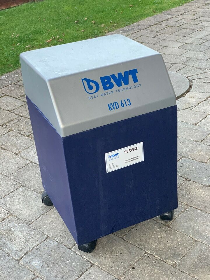Blødgøringsanlæg, BWT KVD 613