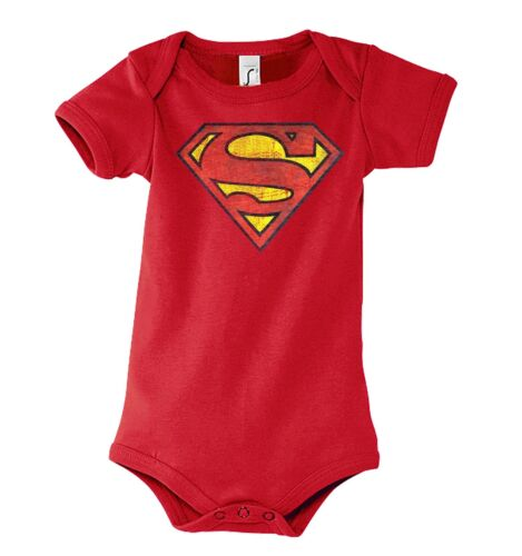 TRVPPY Baby Body Strampler Modell Superman Captain America Batman Kinder Shirt