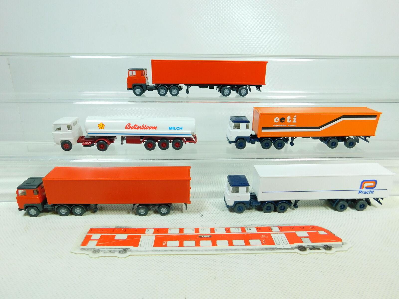 BT383-0,5 BT383-0,5 BT383-0,5 X Wiking H0   1 87 Camión Scania  Ceti + Botterbloom + Esplendor 630bad