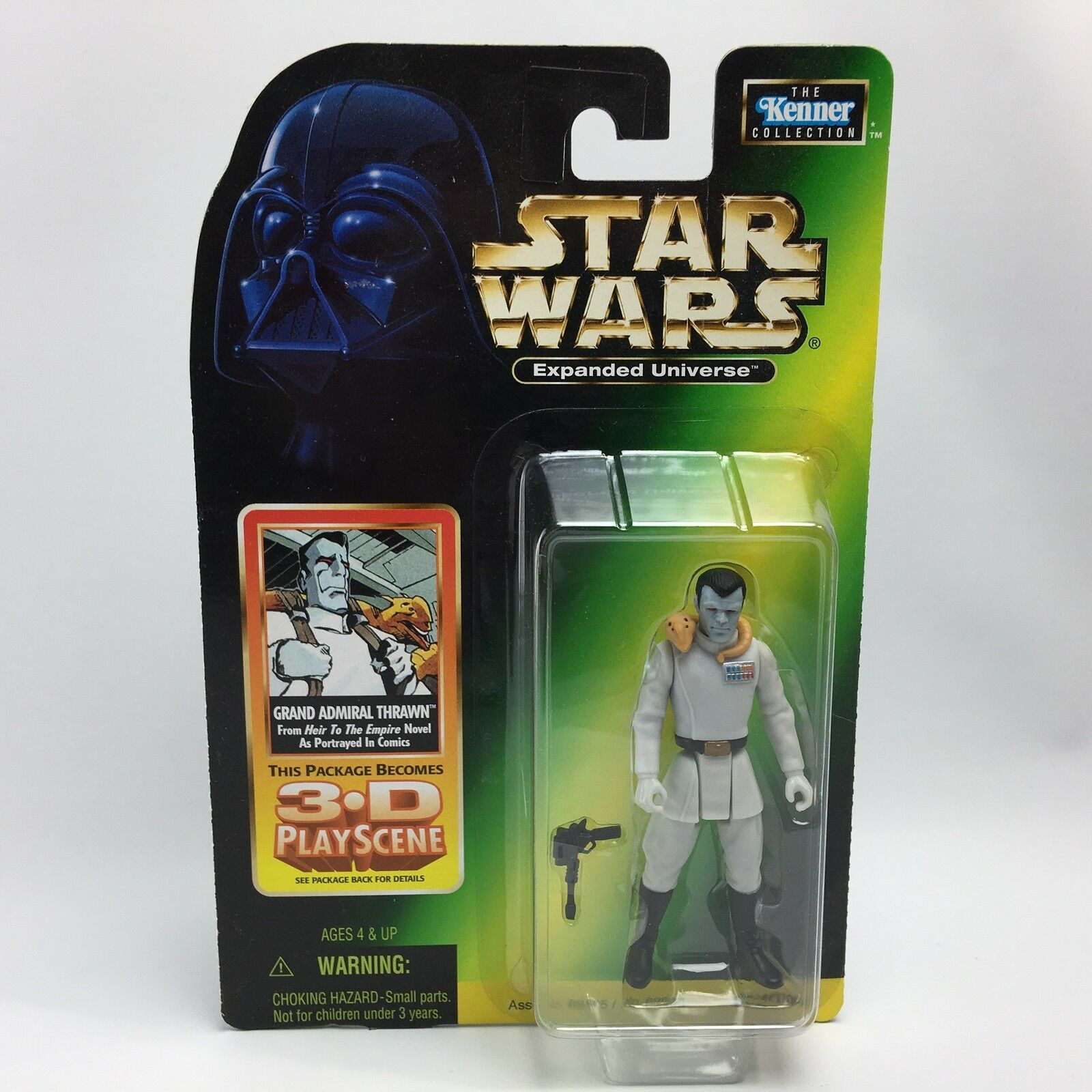 Star Wars Expanded Universe GRAND ADMIRAL THRAWN Figure Heir to the Empire RARE