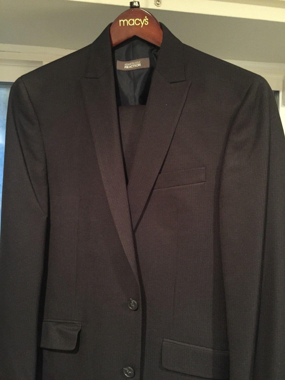 Kenneth Cole reaction herren suit (40L) (40L 33W)