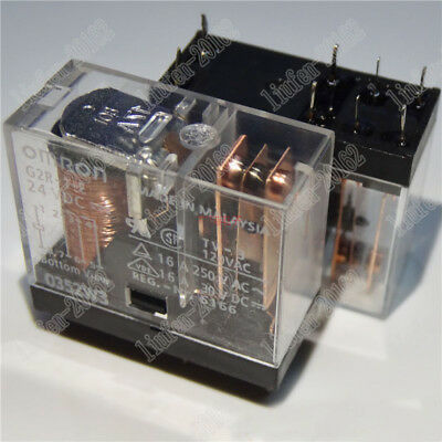 2pcs  new   Omron Relay  G2R-1-E-24VDC
