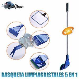 Gentle Rasquetas Limpiacristales Para Acuario Rasqueta Limpia Cristal Limpia Algas Acua Removing Obstruction Pet Supplies