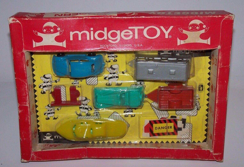 Midge jouet moderne DIE CAST TOYS Jeu Set (années 1950) non ouvert made in USA