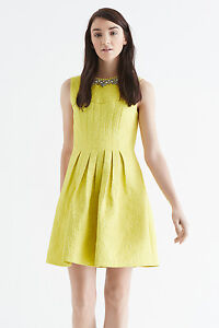 Image is loading Oasis-Sophie-Embellished-Special-Occasion-Dress-Brand-New-