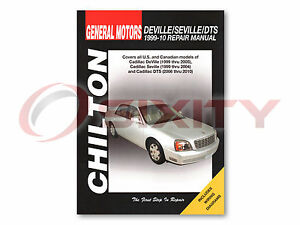Details about Cadillac DeVille Chilton Repair Manual Base d'Elegance ...