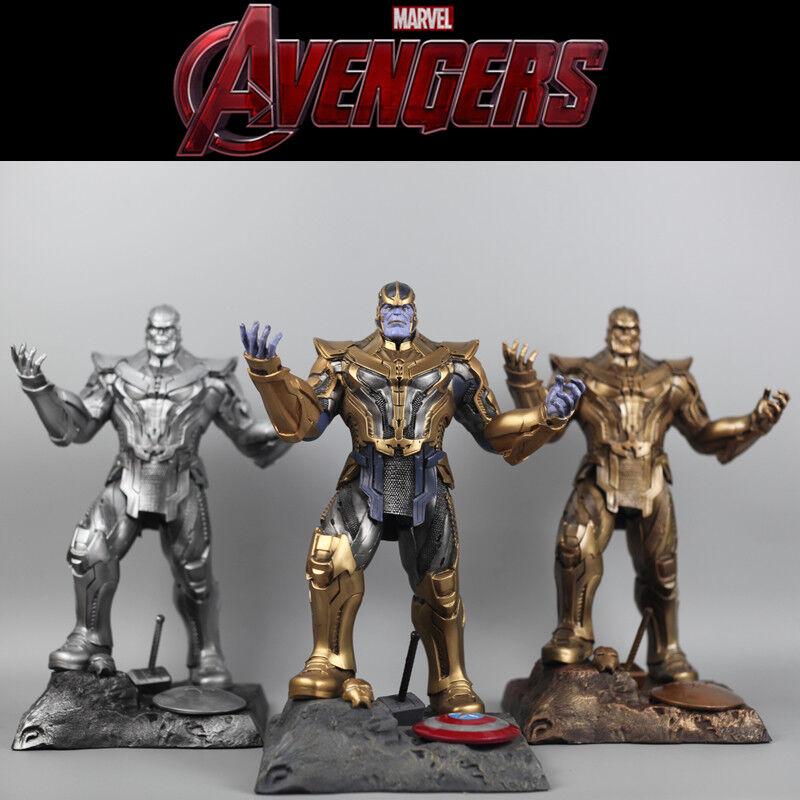13.5 Marvel Los Vengadores 3 Infinity Guerra Estatua De Resina Estatua Figura Thanos 3 Colores