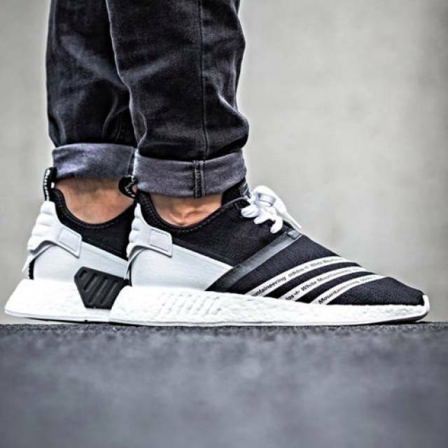 Adidas WM NMD R2 PK Mountaineering. size 10. Black. White Mountaineering. PK CG3648. ultra boost 7ed3f7