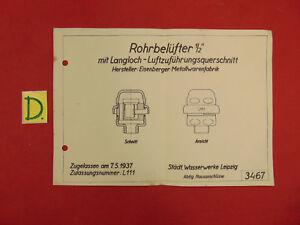Bücher äRger LöSchen Und Durst LöSchen Schema Rohrbelüfter 1/2 Mit Langloch-luftzuführungsquerschnitt Zugellasen Am7.5