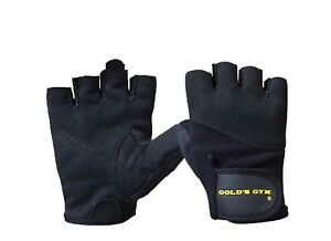 Gold-039-s-Gym-Weight-Lifting-Gloves-Training-Bodybuilding-Fitness-workout-Black