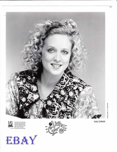 Kelly Coffield In Living Color VINTAGE Photo