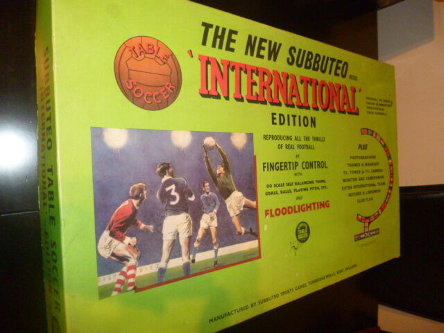 AMAZING THE NEW SUBBUTEO SUBBUTEO SUBBUTEO - INTERNATIONAL - GIANT EDITION VINTAGE FROM 70s b9e92e
