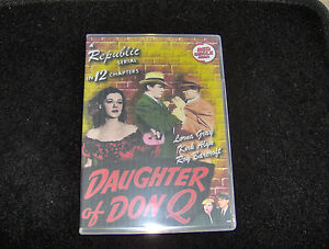 DAUGHTER OF DON Q CLIFFHANGER SERIAL 12 CHAPTERS 2 DVDS