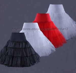 50s-Retro-Underskirt-Swing-Vintage-Petticoat-Net-Skirt-Rockabilly-Tutu-26-034-Long