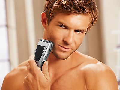 Men's Razor, Strimmer Wet or Dry shaves 3-way Cutting system Battery Power