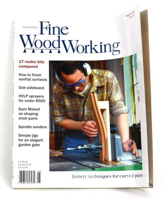 Taunton's Fine Wood Working WOODWORKING Magazine 1999 ...