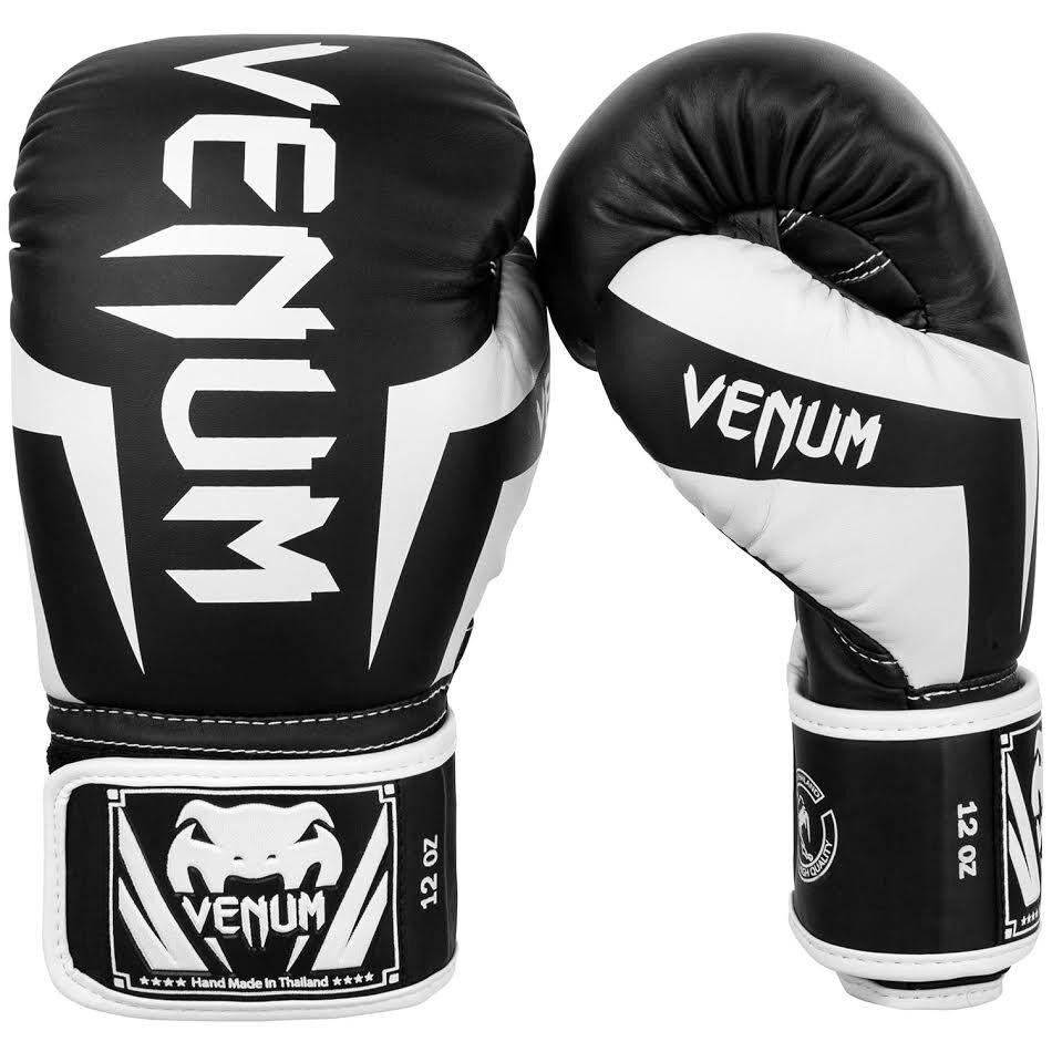 Venum Challenger 3.0 Boxhandschuhe Kunstleder schwarz 14 oz Kickboxen MMA