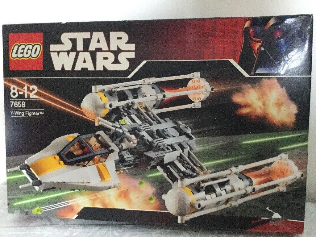 Lego star wars Y WING FIGHTER 7658 NEUF