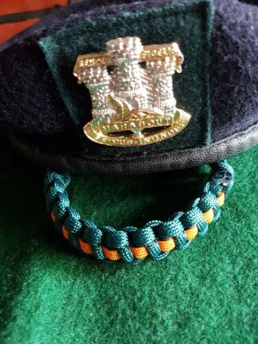Devonshire and Dorset Regiment  Paracord Bracelet