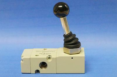 3//2-Wegeventil handbetätigt monostabil bistabil 90° Hebel versch Ausführungen